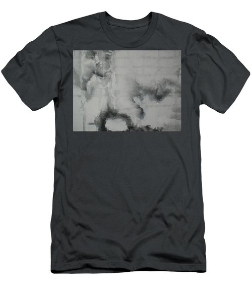 Men's T-Shirt (Slim Fit) featuring the painting Abstract #03 by Raymond Doward