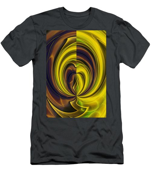 Abstract 121510 Men's T-Shirt (Athletic Fit)