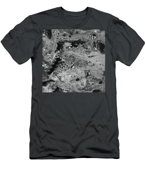 Abstract Acrylic Painting The Night Men's T-Shirt (Slim Fit) by Saribelle Rodriguez