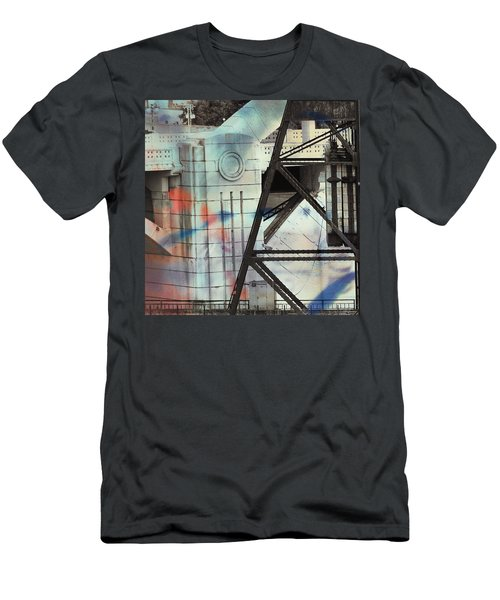Abstract Architecture Men's T-Shirt (Slim Fit) by Susan Stone