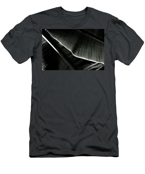 Abstract Banana Leaf Men's T-Shirt (Athletic Fit)