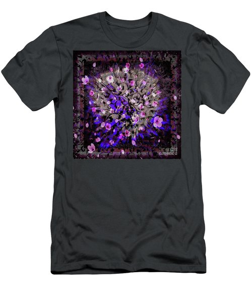 Abstract Cherry Blossom Men's T-Shirt (Athletic Fit)
