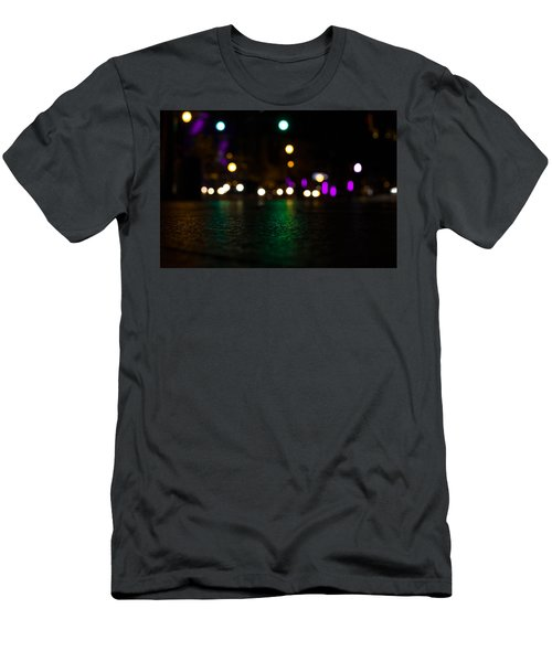 Abstract Color Men's T-Shirt (Athletic Fit)