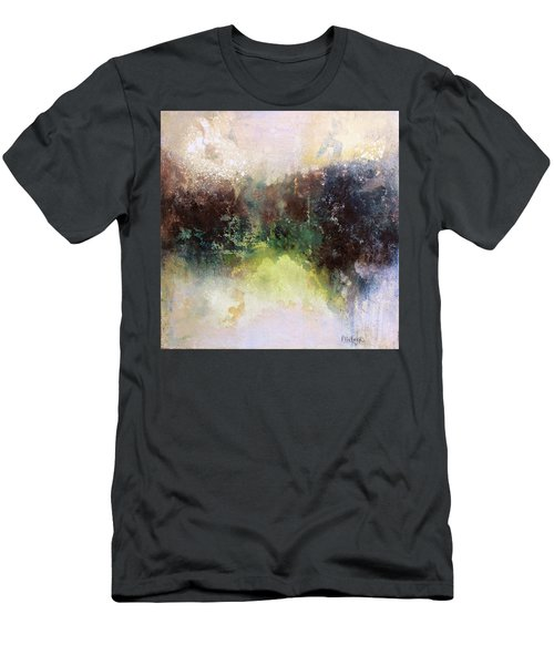 Abstract Contemporary Art Men's T-Shirt (Slim Fit) by Patricia Lintner