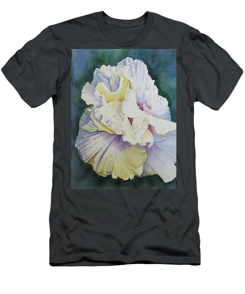Men's T-Shirt (Slim Fit) featuring the painting Abstract Floral by Teresa Beyer