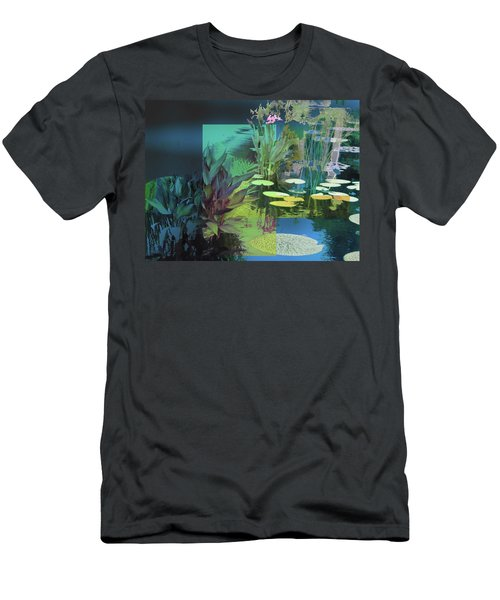 Abstract Flowers Of Light Series #20 Men's T-Shirt (Athletic Fit)