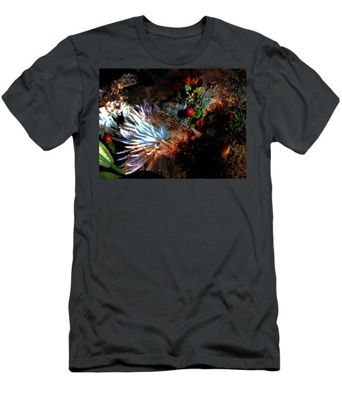 Abstract Flowers Of Light Series #5 Men's T-Shirt (Athletic Fit)