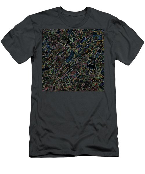 Men's T-Shirt (Athletic Fit) featuring the photograph Abstract II by Lewis Mann