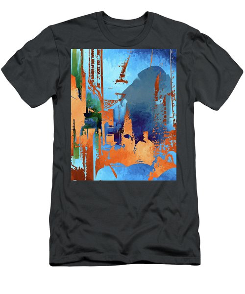 Abstract  Images Of Urban Landscape Series #1 Men's T-Shirt (Athletic Fit)