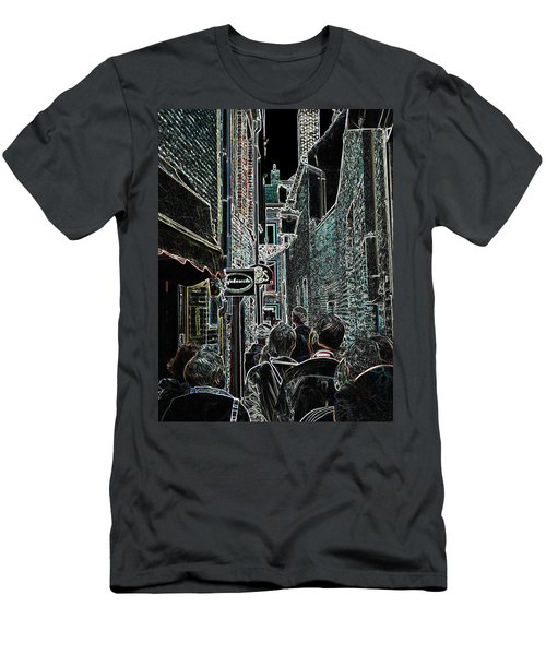 Abstract  Images Of Urban Landscape Series #12b Men's T-Shirt (Athletic Fit)