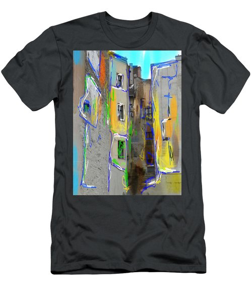 Abstract  Images Of Urban Landscape Series #13 Men's T-Shirt (Athletic Fit)