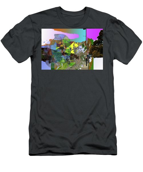 Abstract  Images Of Urban Landscape Series #5 Men's T-Shirt (Athletic Fit)
