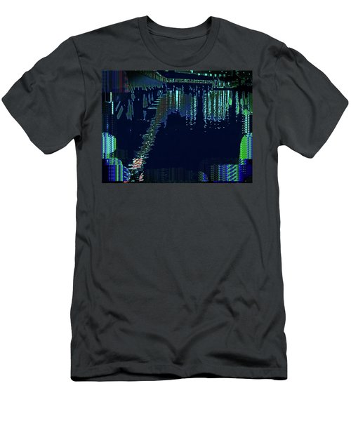 Abstract  Images Of Urban Landscape Series #7 Men's T-Shirt (Athletic Fit)