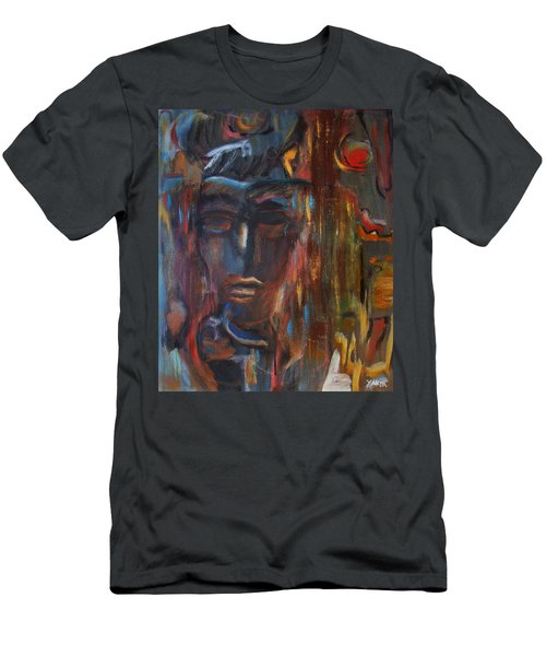 Abstract Man Men's T-Shirt (Athletic Fit)