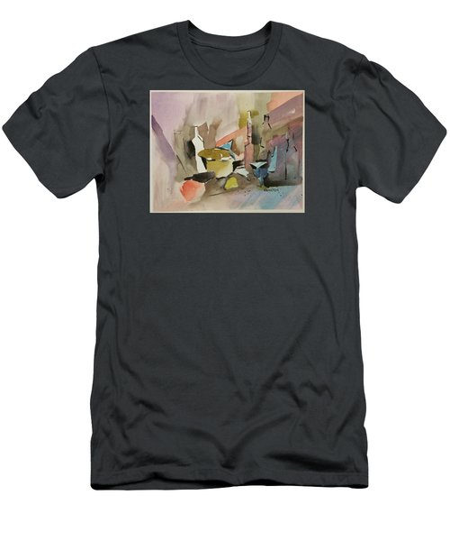 Abstract Opus 4 Men's T-Shirt (Athletic Fit)