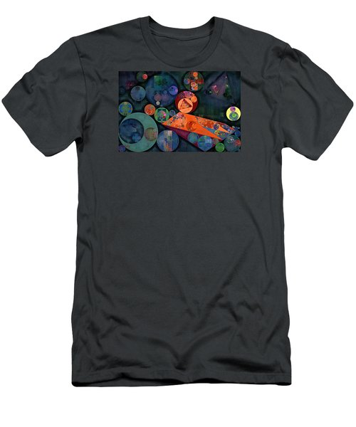Abstract Painting - Tango Men's T-Shirt (Slim Fit) by Vitaliy Gladkiy