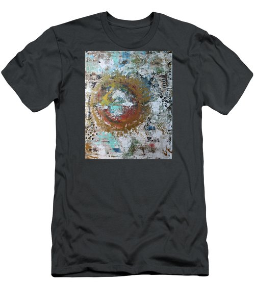 Abstract Paintng Men's T-Shirt (Athletic Fit)