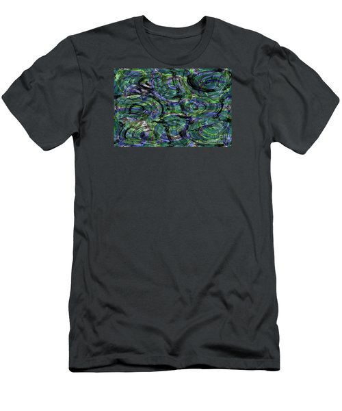 Abstract Pattern 5 Men's T-Shirt (Slim Fit) by Jean Bernard Roussilhe