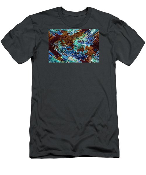 Abstract Pattern 6 Men's T-Shirt (Athletic Fit)