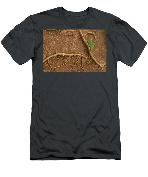 Abstract Roots Men's T-Shirt (Athletic Fit)