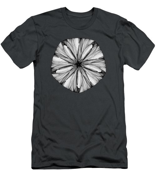 Abstract Sand Dollar Men's T-Shirt (Athletic Fit)