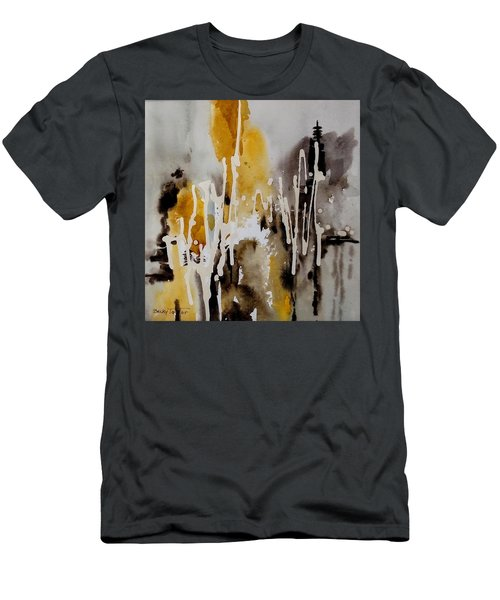 Abstract Scene Men's T-Shirt (Athletic Fit)
