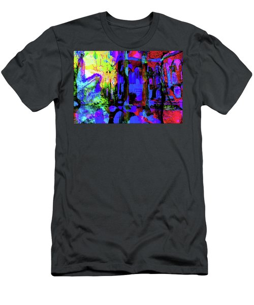 Abstract Series 0177 Men's T-Shirt (Athletic Fit)