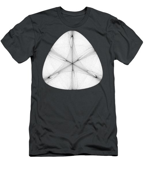 Abstract Shell Men's T-Shirt (Athletic Fit)