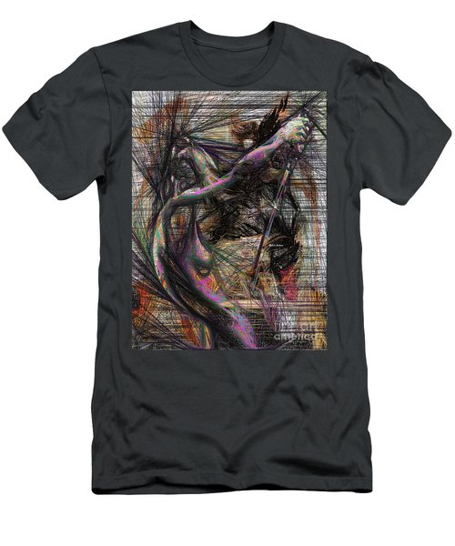 Abstract Sketch 1334 Men's T-Shirt (Athletic Fit)