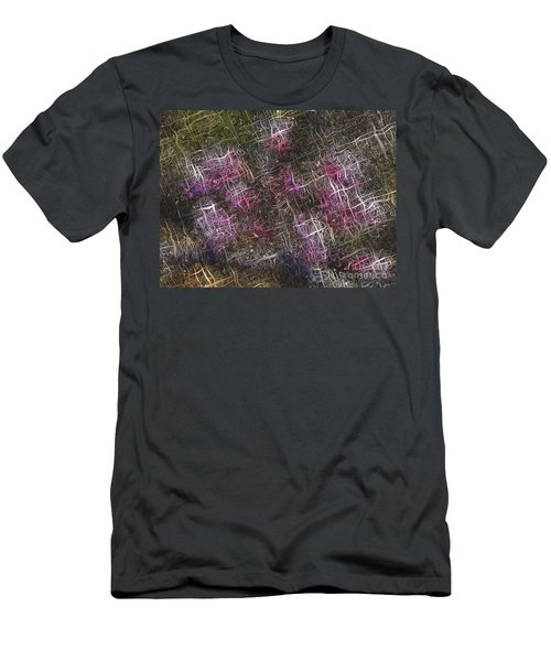 Abstract Tulip Men's T-Shirt (Athletic Fit)
