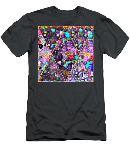 Abstract Windows Men's T-Shirt (Athletic Fit)