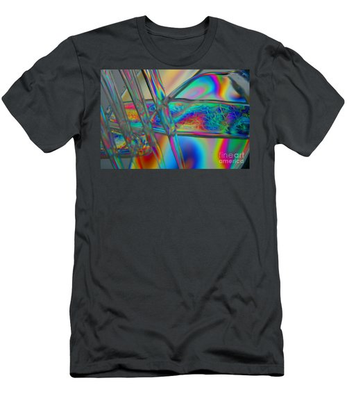 Abstraction In Color 2 Men's T-Shirt (Athletic Fit)