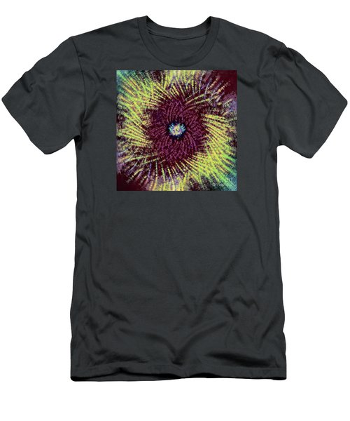 Men's T-Shirt (Slim Fit) featuring the photograph Abstract Swirl 02 by Jack Torcello