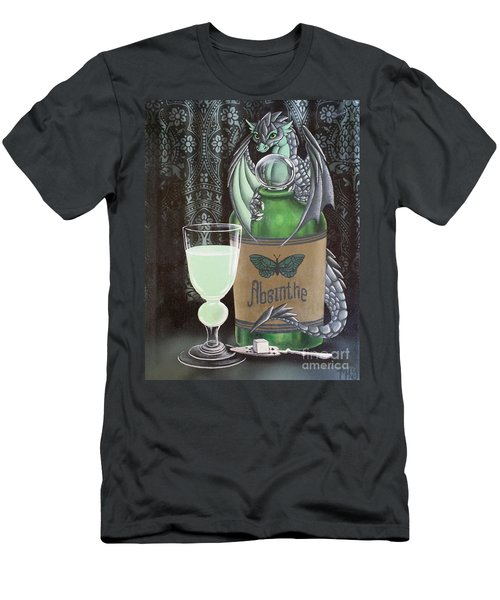 Absinthe Dragon Men's T-Shirt (Athletic Fit)