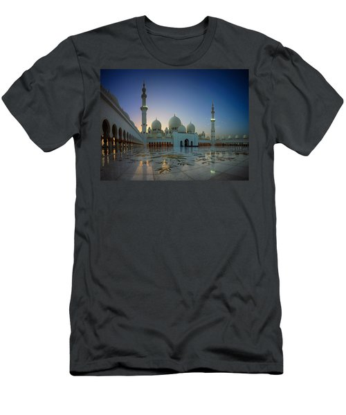 Abu Dhabi Grand Mosque Men's T-Shirt (Athletic Fit)