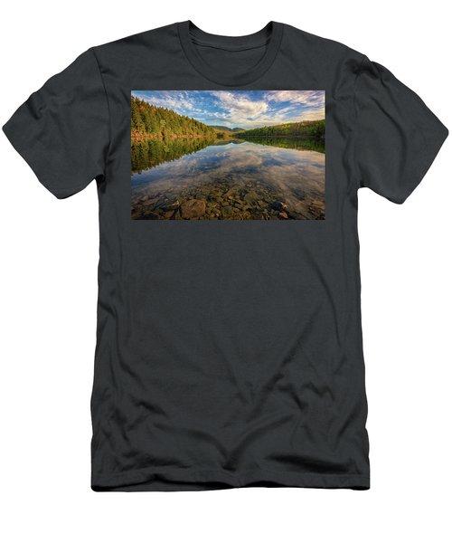Acadian Reflection Men's T-Shirt (Slim Fit) by Rick Berk