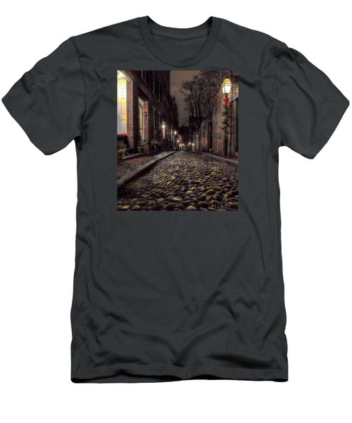 Acorn Street Men's T-Shirt (Athletic Fit)