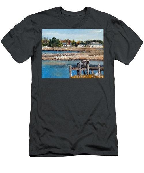 Across The White Oak Men's T-Shirt (Athletic Fit)