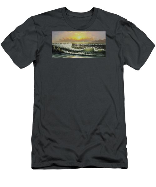 Acrylic Msc 148 Men's T-Shirt (Slim Fit) by Mario Sergio Calzi