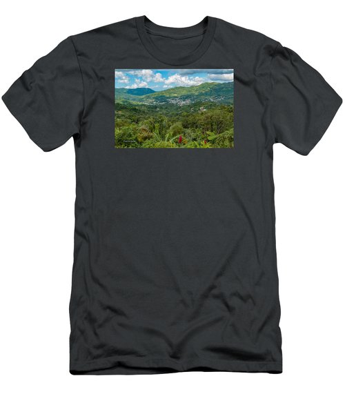 Adjuntas Men's T-Shirt (Athletic Fit)