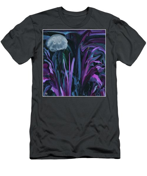 Men's T-Shirt (Athletic Fit) featuring the photograph Adrift In The Mermaid Cafe by Wayne D King