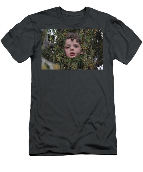 Adventures In Wonderland Men's T-Shirt (Athletic Fit)