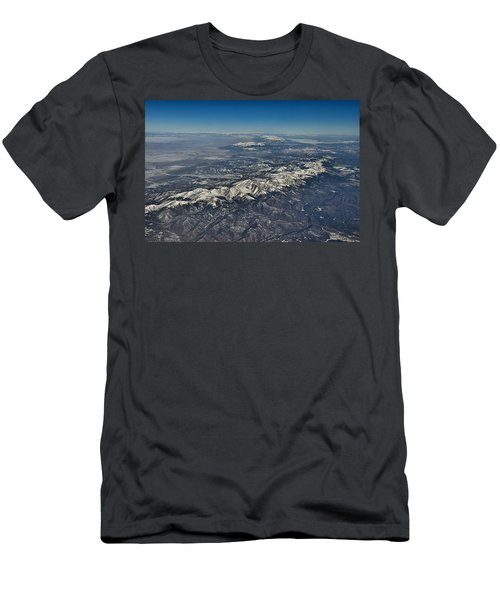 Men's T-Shirt (Slim Fit) featuring the photograph Aerial 3 by Steven Richman