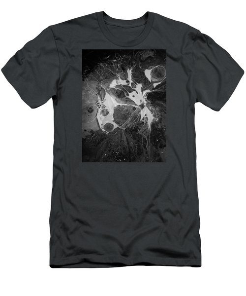 Aerial Photo Vulture Beak Yawn Men's T-Shirt (Athletic Fit)