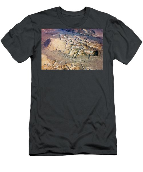 Afghan River Village Men's T-Shirt (Athletic Fit)