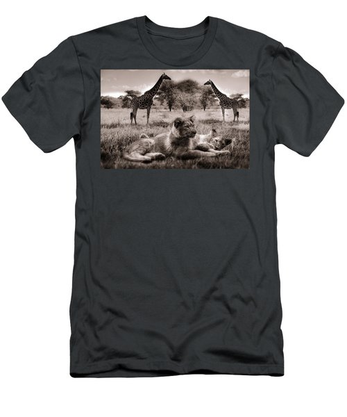 African Life Men's T-Shirt (Athletic Fit)
