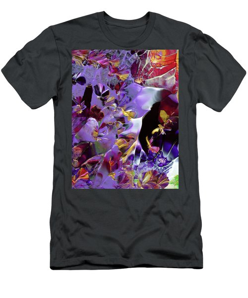 African Violet Awake #2 Men's T-Shirt (Athletic Fit)