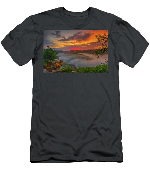 After A Rainy Night.... Men's T-Shirt (Slim Fit)