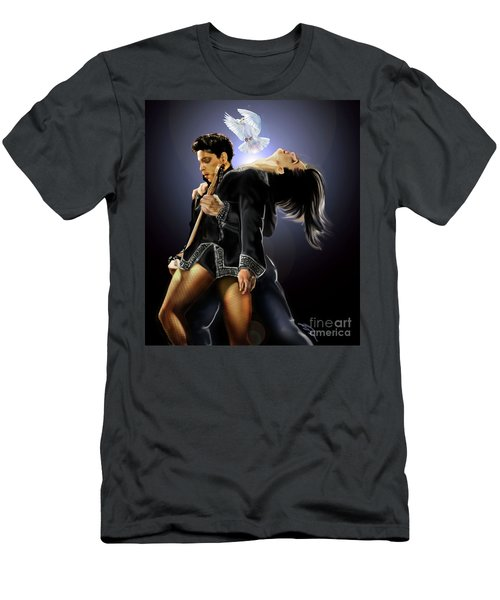 After Doves Cry They Fly Prince Men's T-Shirt (Athletic Fit)