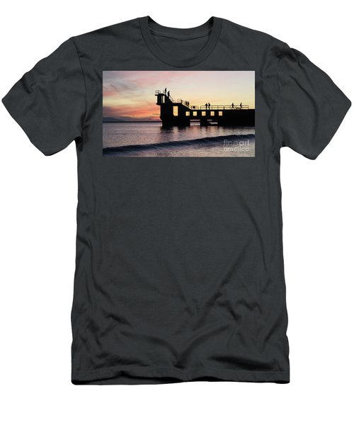 After Sunset Blackrock 4 Men's T-Shirt (Athletic Fit)
